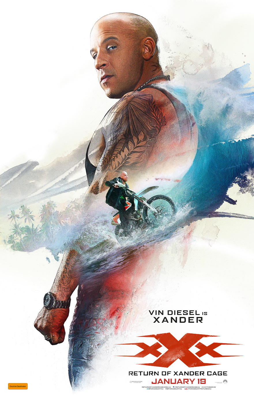 Win tickets to xXx: Return of Xander Cage