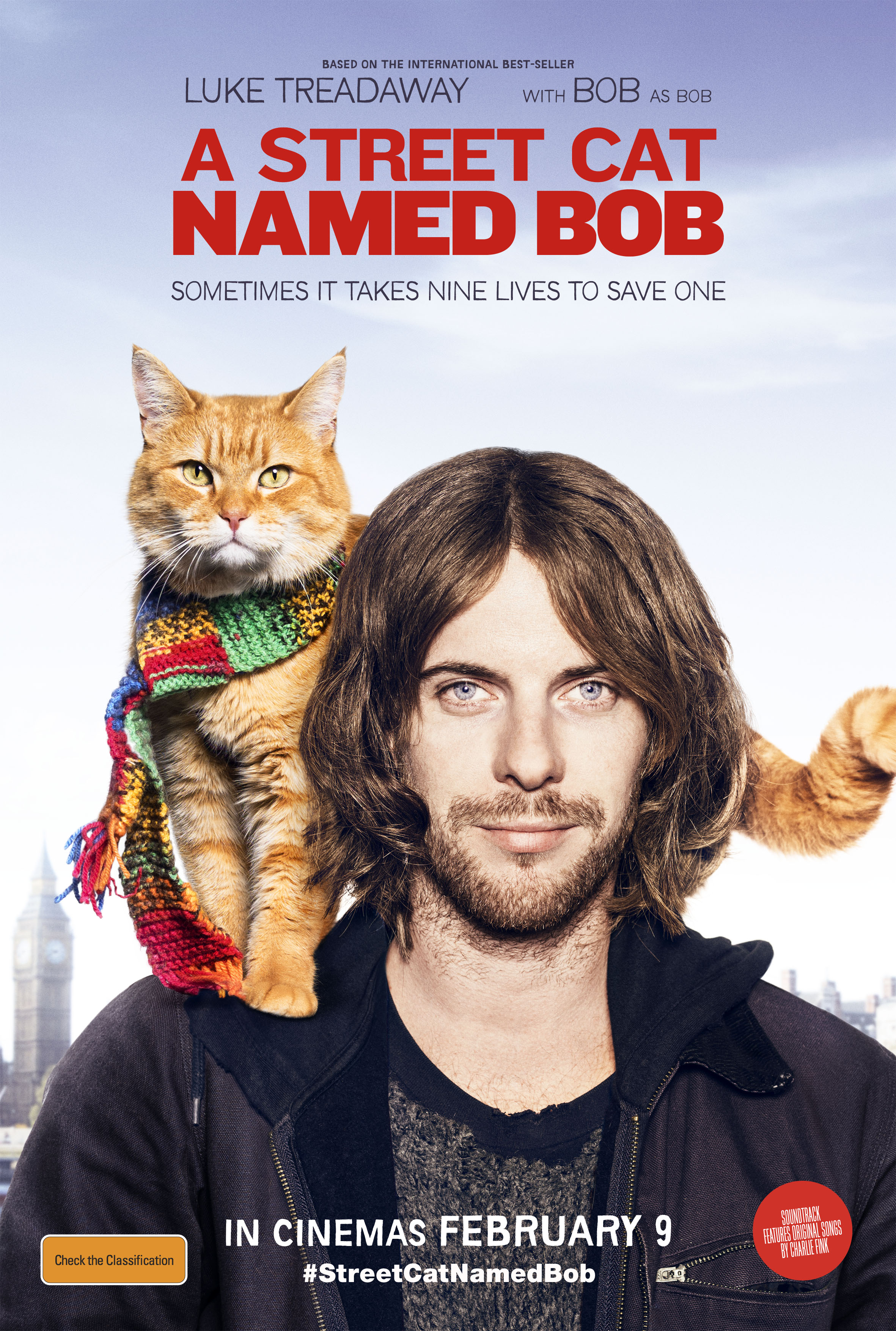 Win tickets to A Street Cat Named Bob