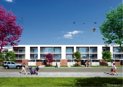 An artist's impression of Springs Apartments.