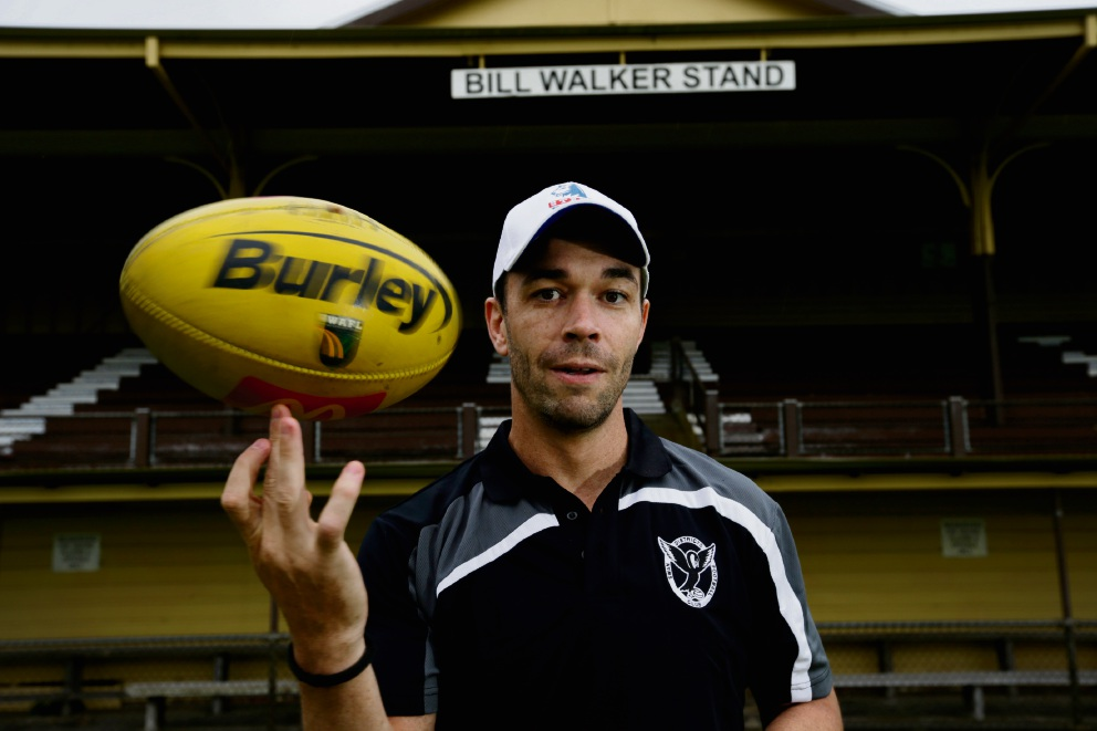 Ryan Crowley is looking forward to getting down to business with Swan Districts. Photo: Andrew Ritchie