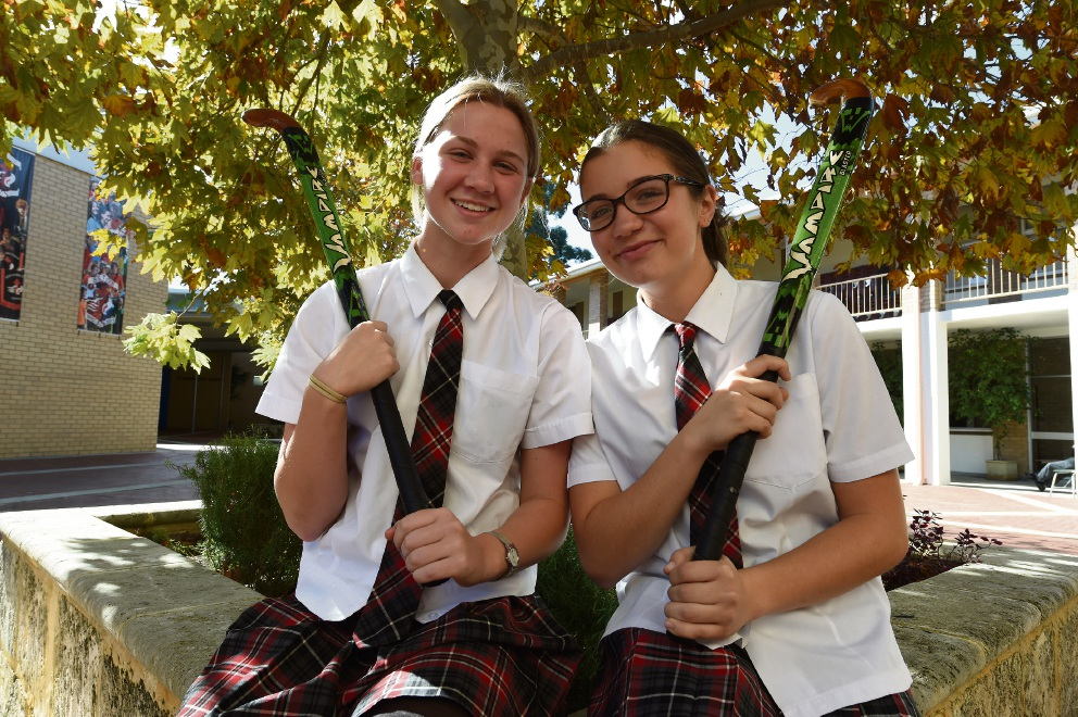 Bibra Lake's Molly Hagen (left) and Kardinya's Jo Snyman have both been selected to represent WA at the national championships this April. Picture: Community Newspaper Group