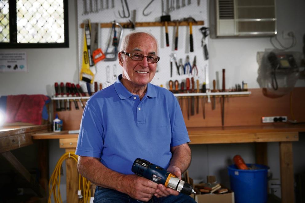 Balcatta husband a 'dementia care hero', says Alzheimer's WA chief executive