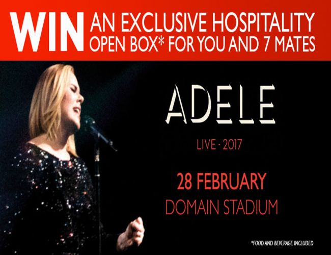 Win VIP tickets to Adele Live 2017