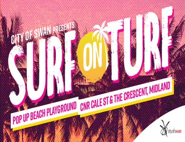 Win VIP tickets to Surf on Turf Pop Up Beach Playground