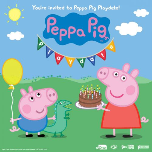 Win tickets to Peppa Pig Playdate