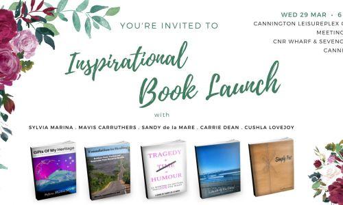 Inspirational Book Launch at Cannington Leisureplex