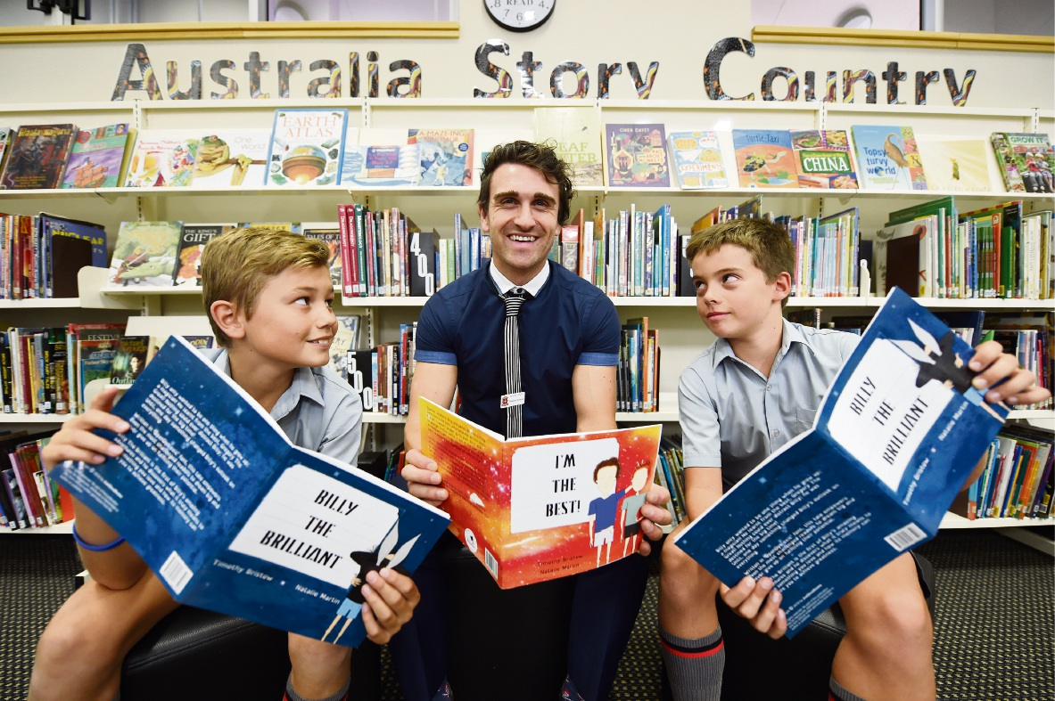 I'm the Best: new children's book fundraiser in Freo just the medicine