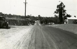 Wanneroo Road in 1965 close to the townsite.