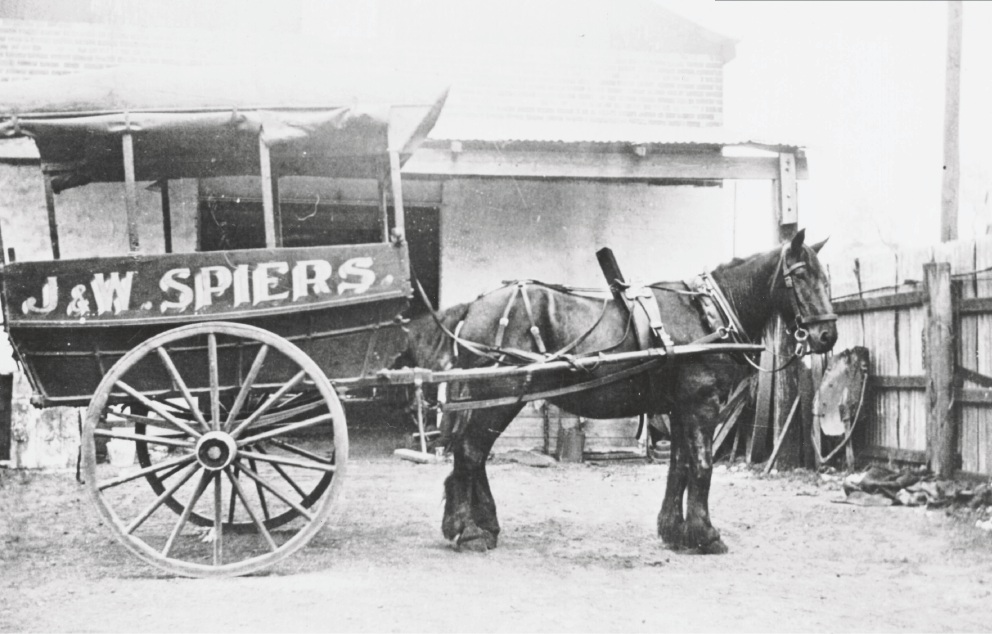 James Spiers, a prominent pioneer of Wanneroo, ran his own cartage company.