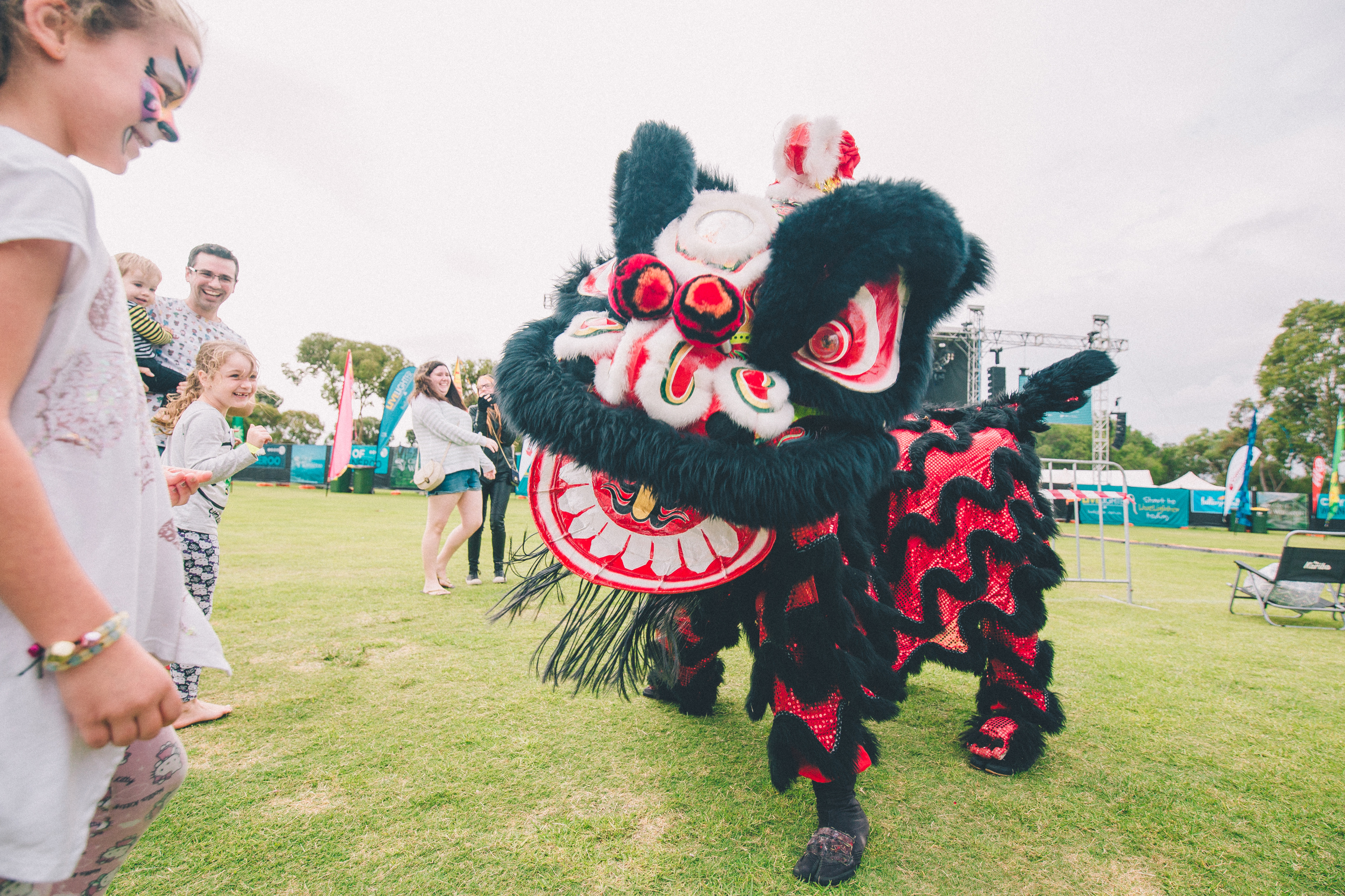 Chinese Lion Dancers. Picture: Matsu Photography