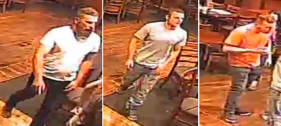 Police are seeking the identity of these three men who may be able to assist in the investigation. Picture: WA Police