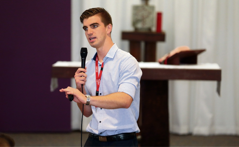 Motivation workshop acts as launching pad for Sacred Heart College students