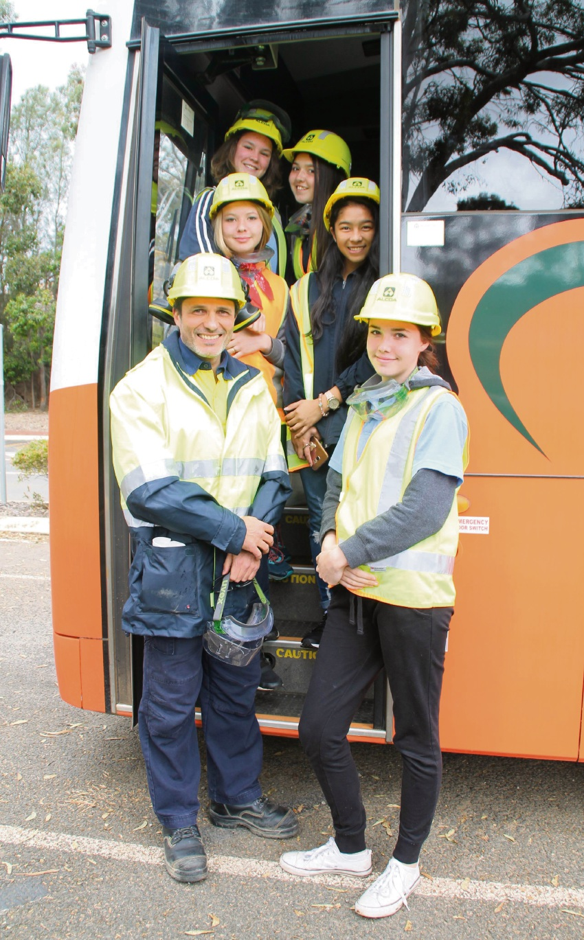 Pinjarra SHS students getting work experience at Alcoa | Community