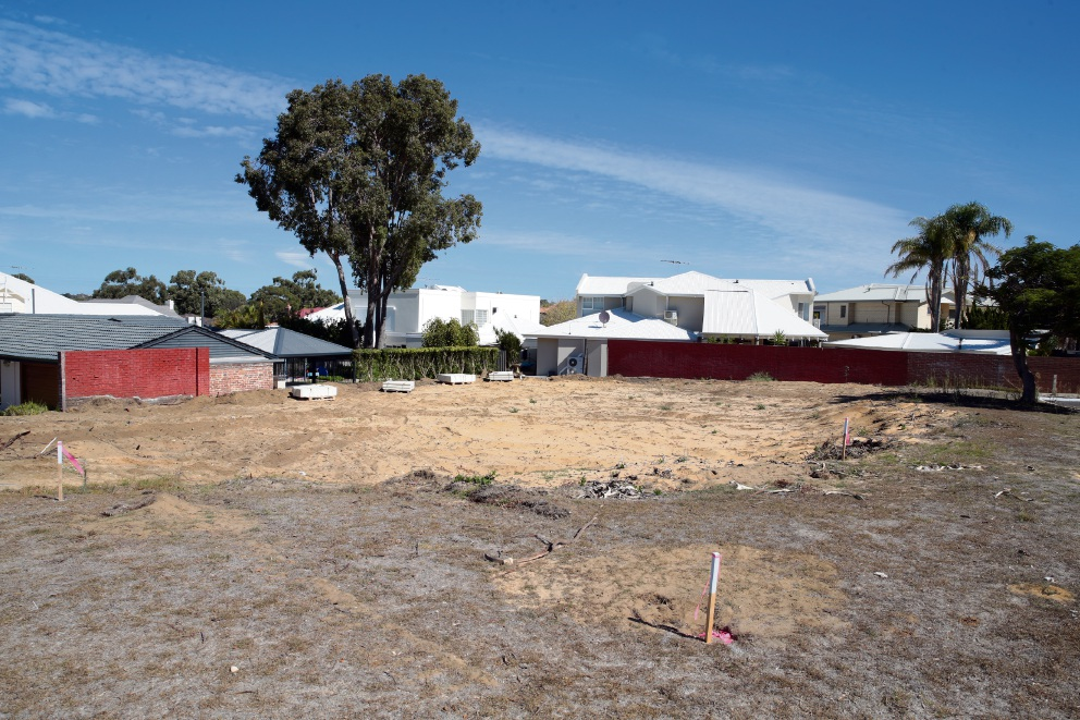 Residents are concerned about losing trees during development in Duncraig. Picture: Martin Kennealey d468473