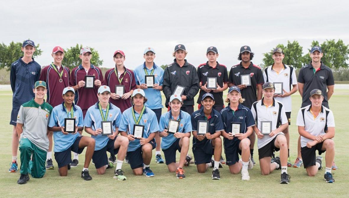 The Australian under 16s team.