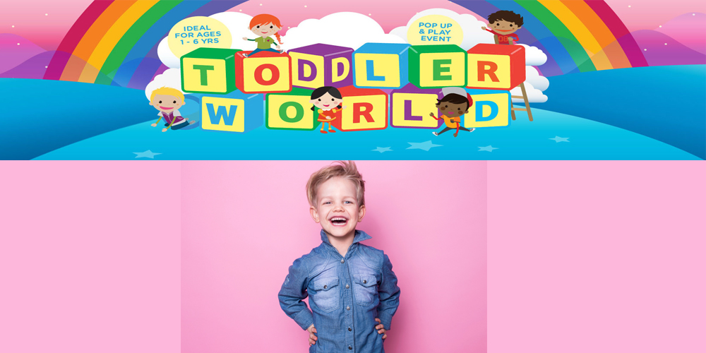 Win tickets to Toddler World