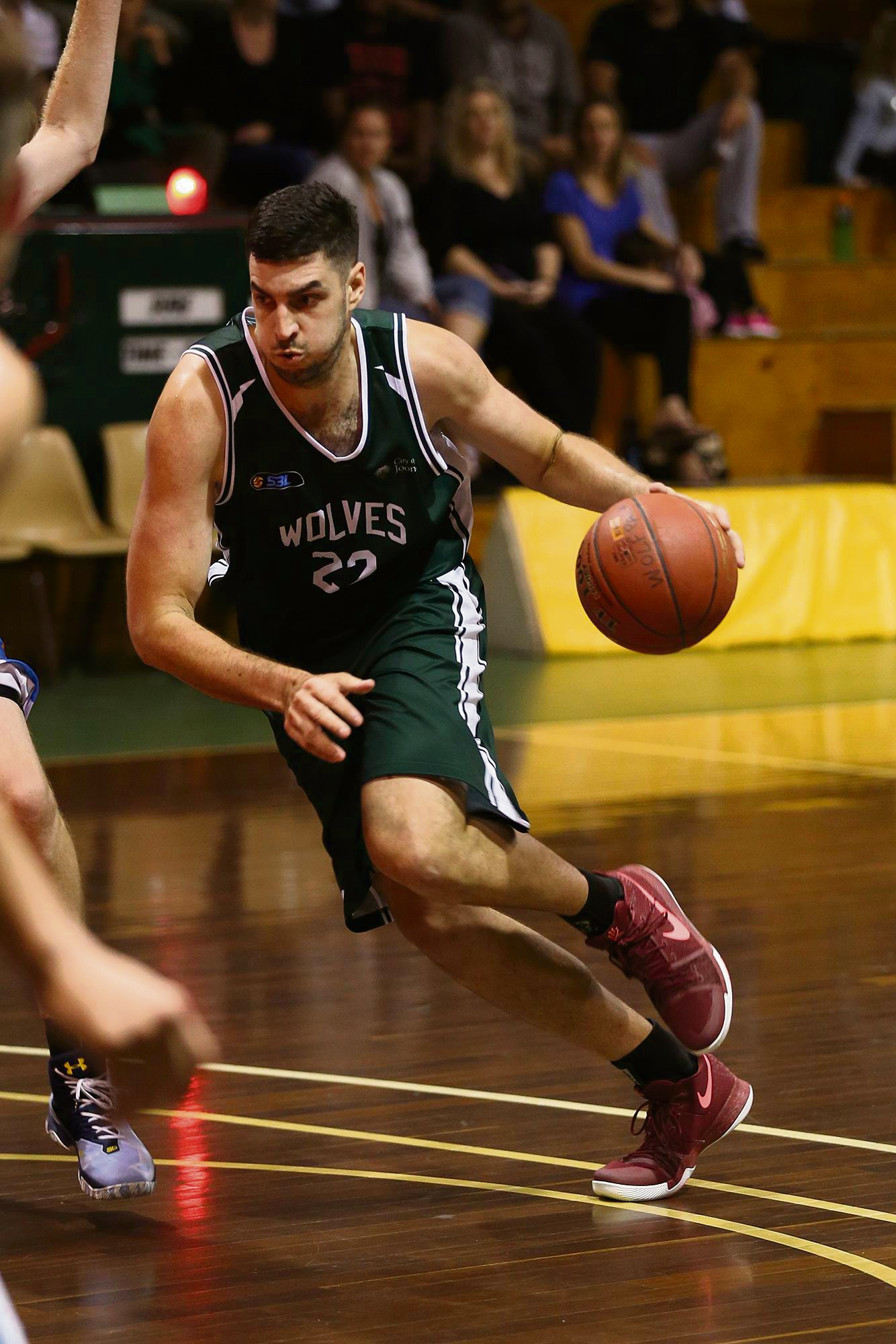 Rob Huntington was the Wolves' top scorer against Kalamunda. Picture: Michael Farnell, sportsimagery.com.au