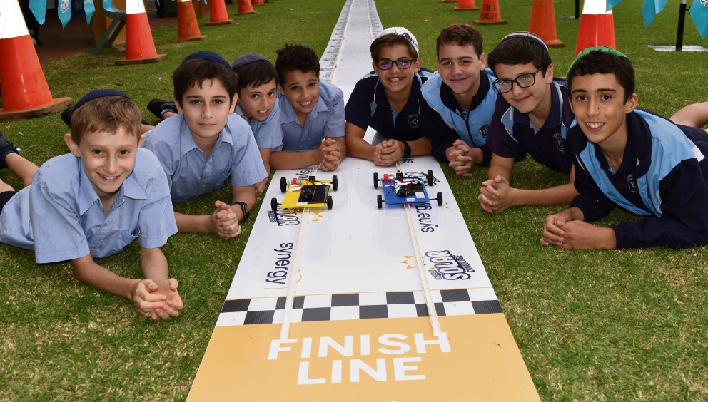 Carmel School students won the inaugural Synergy Schools Solar Challenge Grand Final.