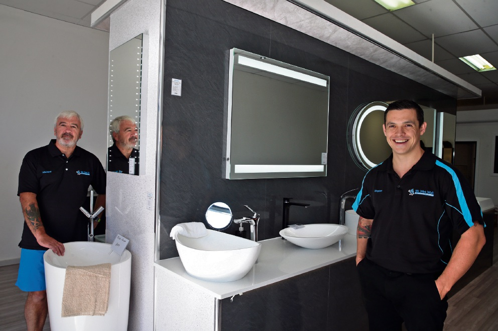 European Holiday Inspires Mr Wet Wall Business In