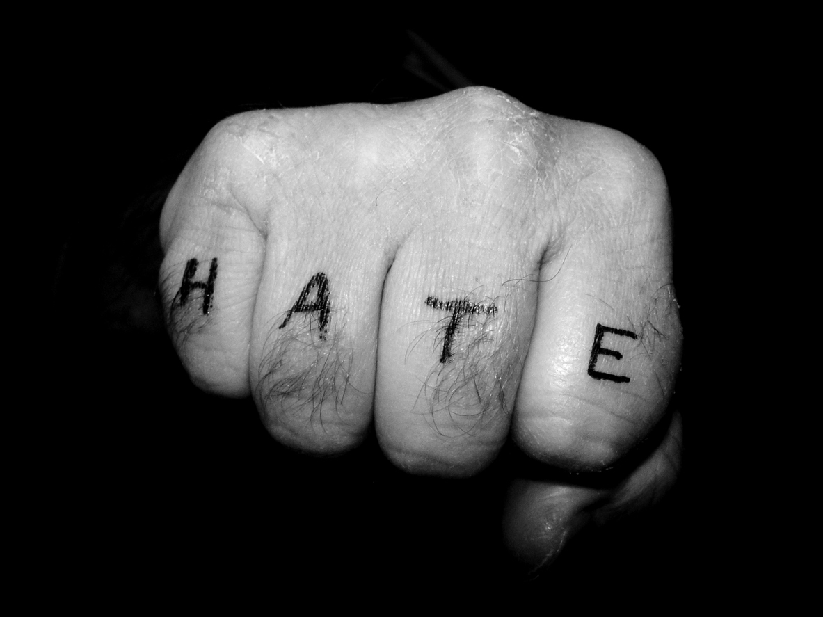 Don't let hate win