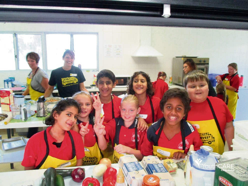 Eddystone PS students learnt to cook simple, nutritious meals through the OzHarvest program.