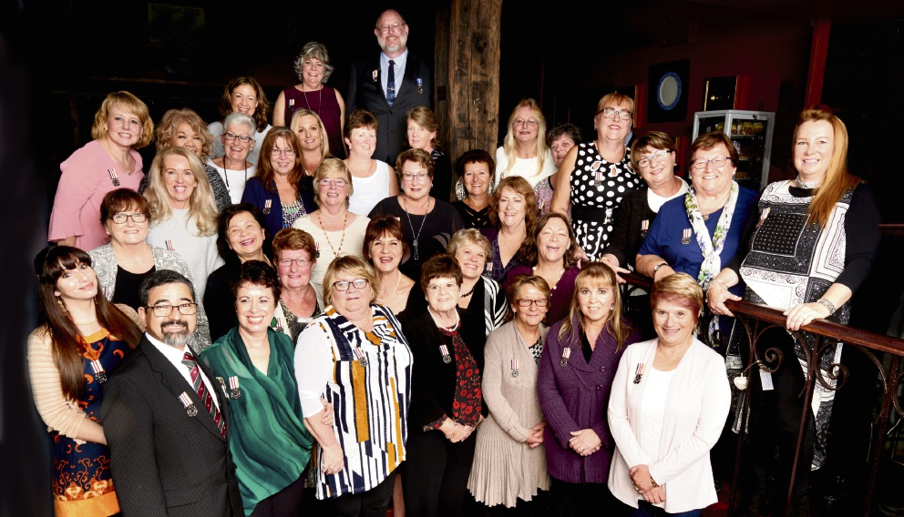 Nurses from around the state were awarded medals for their service at a ceremony last month.