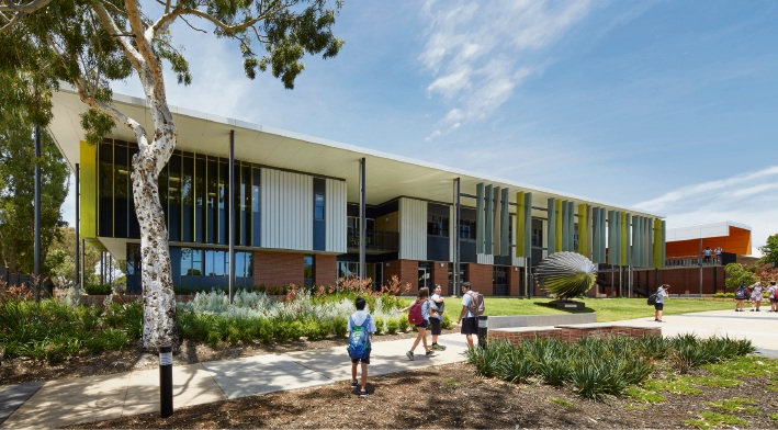 This year's George Temple Poole award went to Hassel for its redesign of Willetton Senior High School.