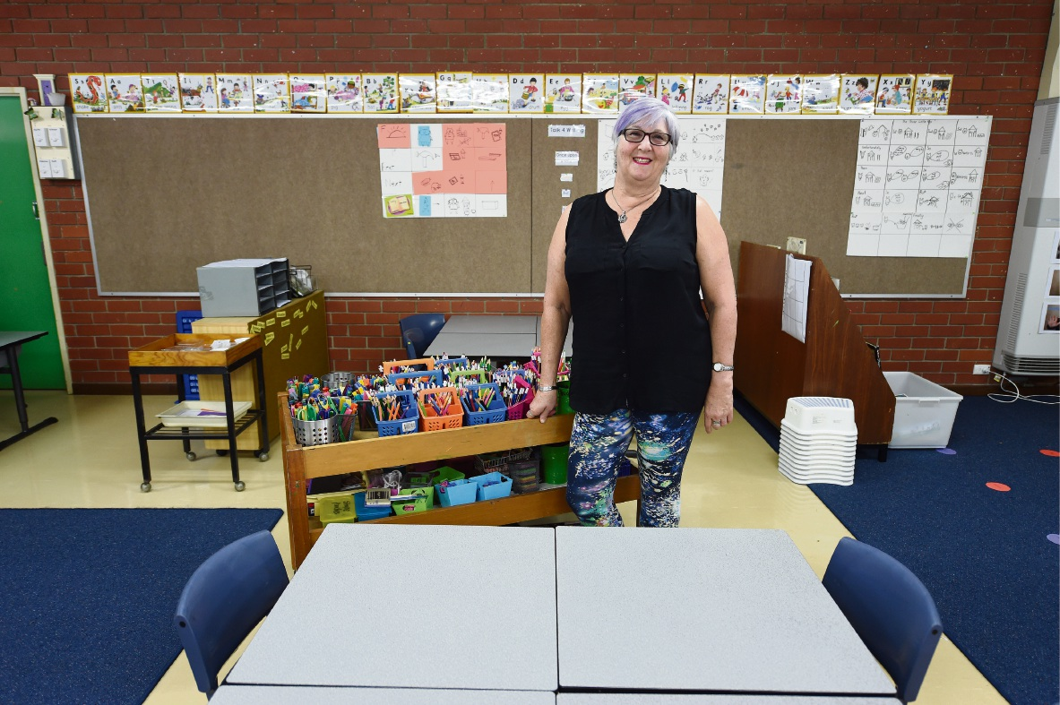 East Hamilton Primary school teacher Jo Sterkenburg is retiring after 40 years in the field. �������d470599