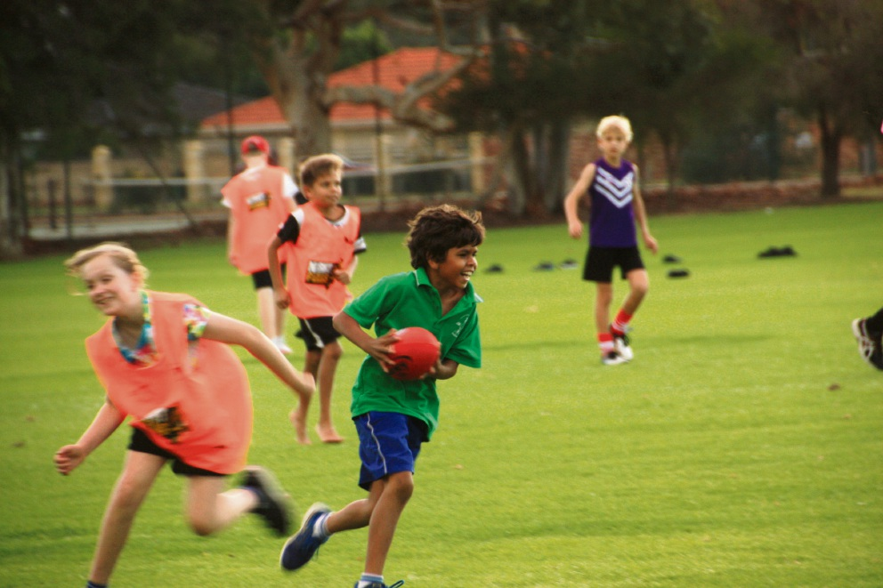 The NightFields kids had a ball during the four-week pilot program in Armadale recently.