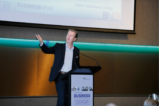 Business News chief executive Charlie Gunningham. Picture: Chris Kershaw