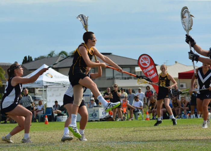 Baillie-Rose Keenan in action for WA.