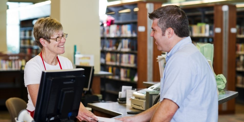 Connecting with the local librarian