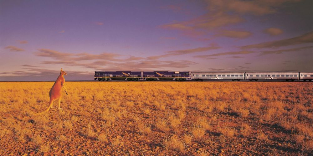 It truly is one of the world's great rail journeys. Photo: Australia.com