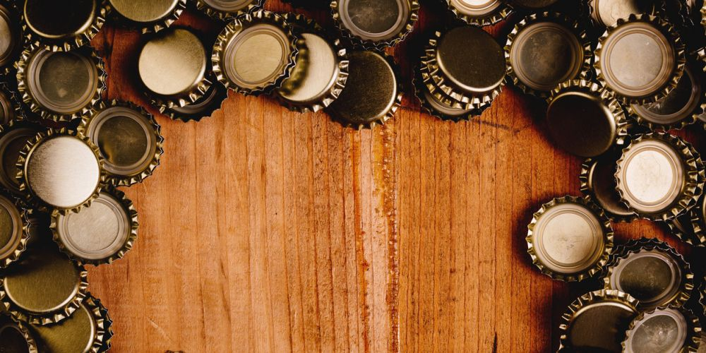 Beer bottle tops are a recycling conundrum.