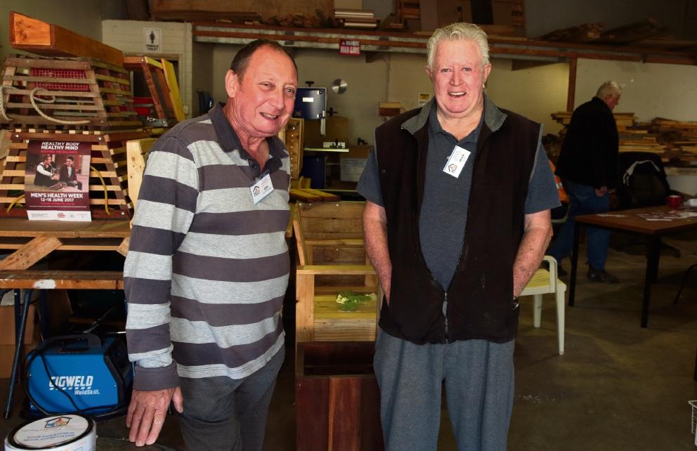Ken Clutterbuck and Hugh Leslie.