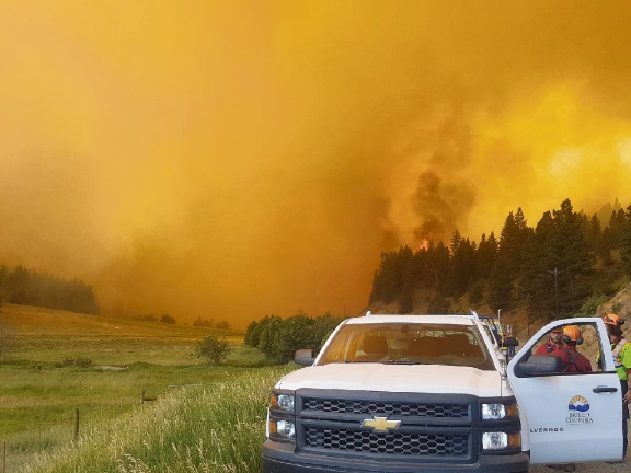 British Columbia Wildfires Continue to Rage, Torching 1235-Plus Square Miles