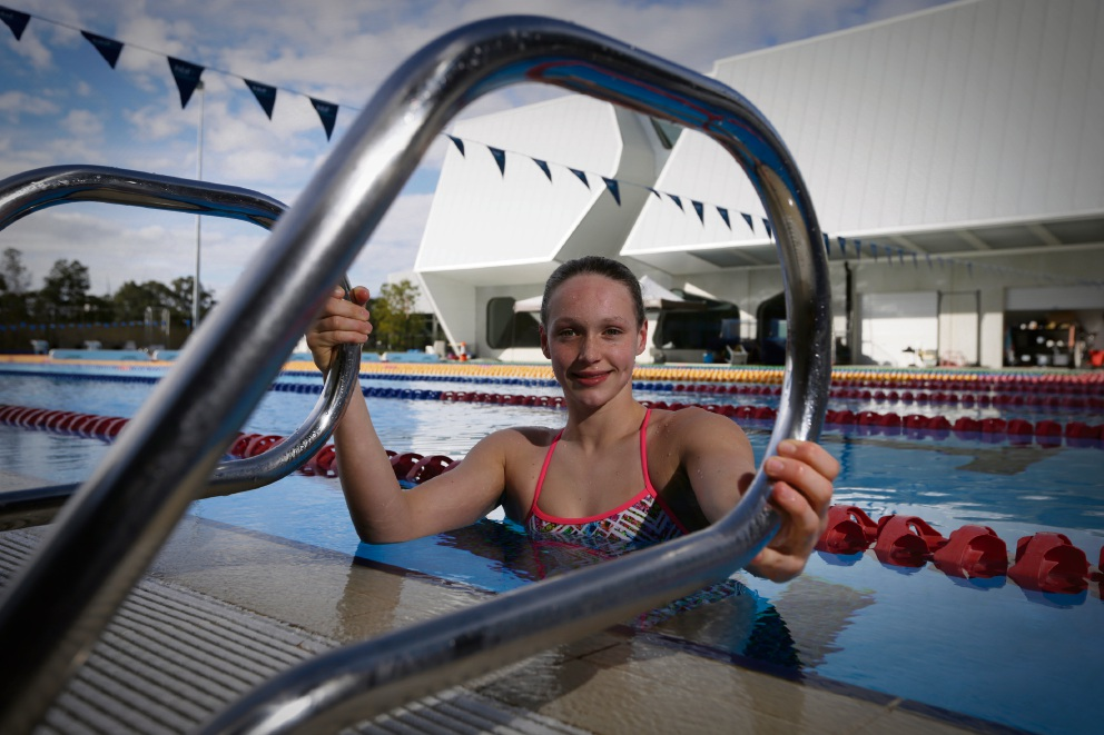 Rising swimming star Jemima Horwood is off to Indianapolis for the FINA junior world championships later this month.