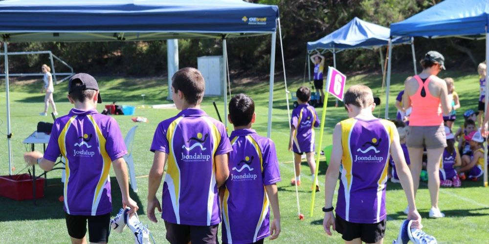 Joondalup athletes will benefit from a grant. Picture: Joondalup Little Athletics Club/Facebook