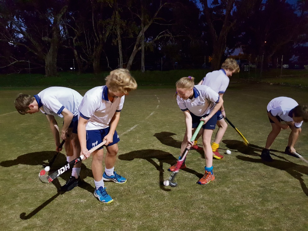 Academy players gear up for a Guinness World Record attempt.