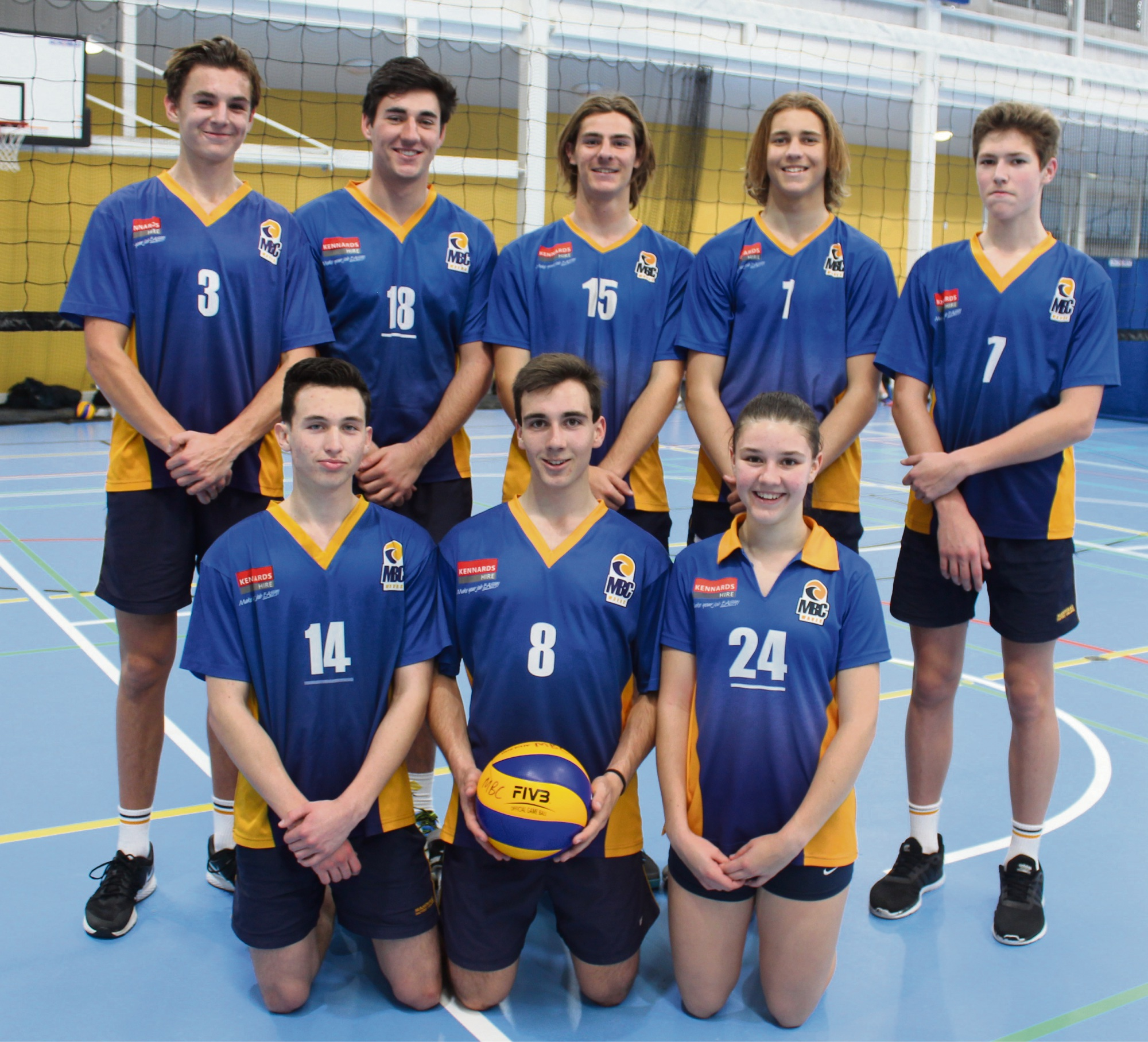 Seven students from Mandurah Baptist College are hard in training for two competitions.