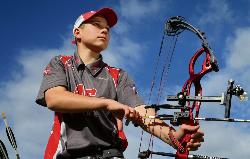 Yanchep archer Danie-Louis Oosthuizen is well on target to achieve his Olympic dream