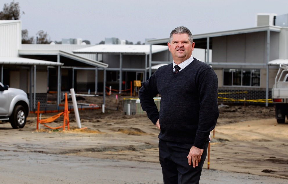 Geoff Miller will be the principal at the new primary school in Wellard. Picture: Marie Nirme www.communitypix.com.au d472391
