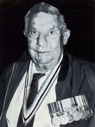 Torren Whisson's portrait of war veteran Herbert Harrison
