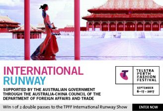 Win tickets to International Runway – Telstra Perth Fashion Festival