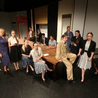 Seton College's cast for 12 Angry Men.