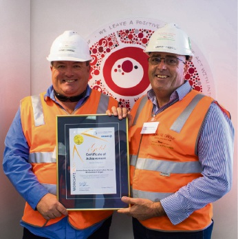 Scentre Group's Donny Carroll and Rob Stansfield.