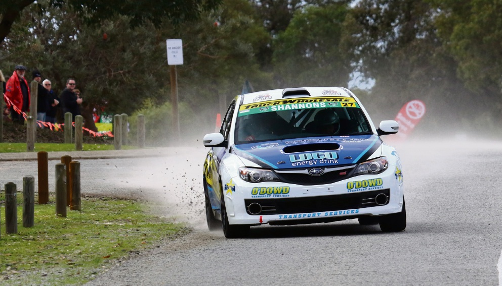 John O'Dowd in the Targa West rally. Picture: Targa West/Tim Allott