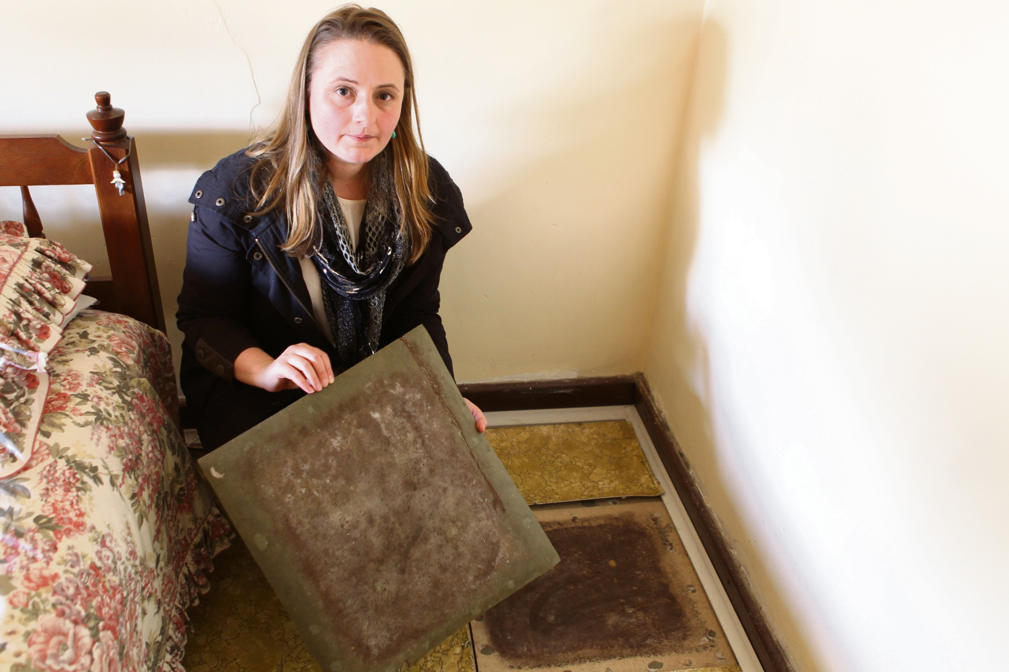 Sophie Osterloh spent months researching and spent a considerable amount of money on consultants to ensure her house did not succumb to damage.