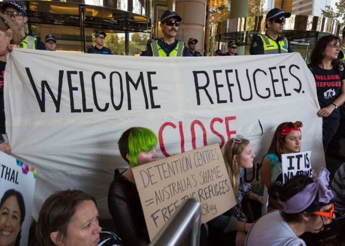 Australia has space for refugees.