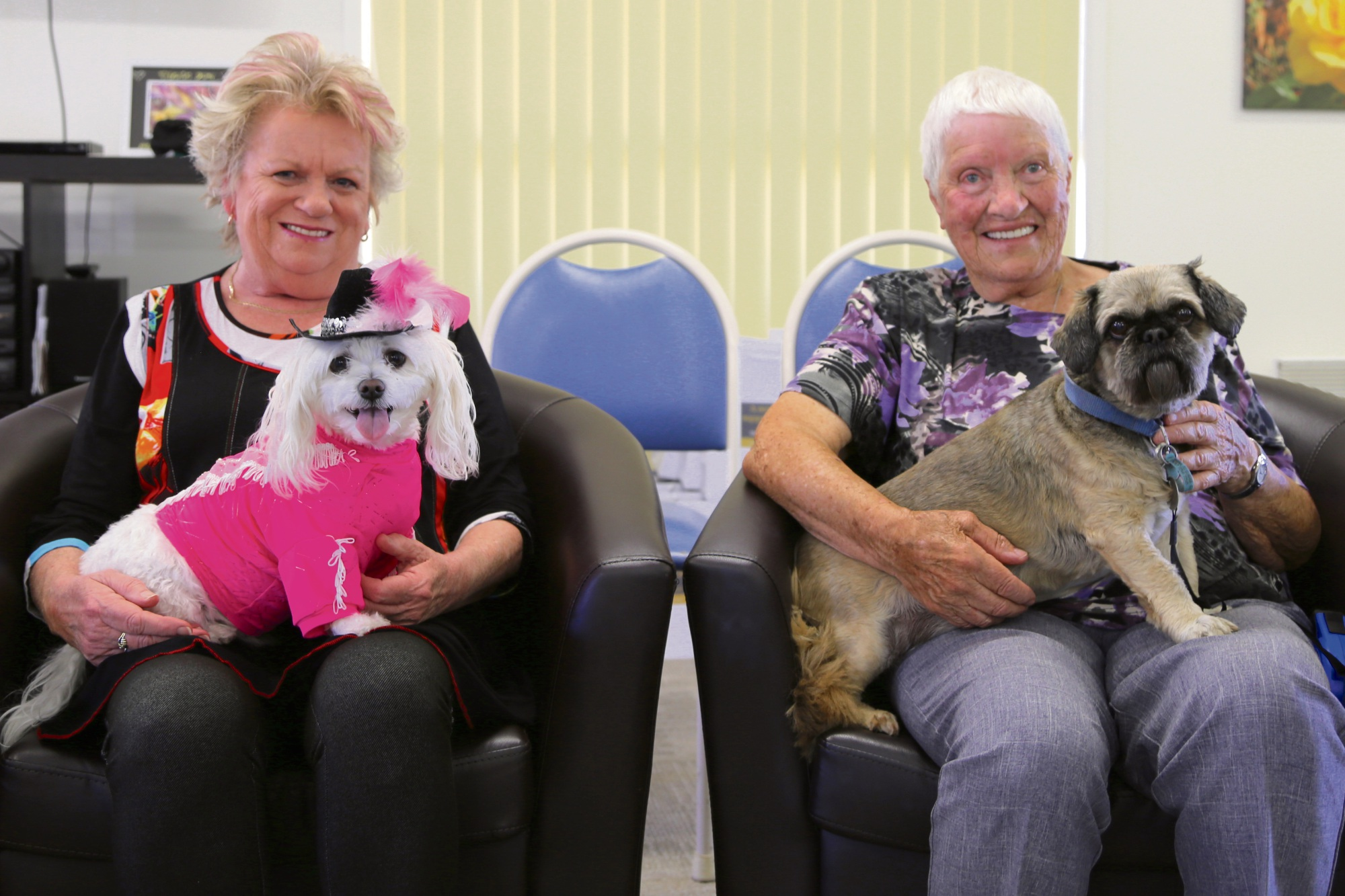 Ingenia Gardens residents helped raise money for the RSPCA.